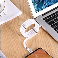 Dây cáp sạc chống rối, tự động thu gọn cho Iphone, Type C, Micro USB, có nam châm - Màu ngẫu nhiên thumbnail