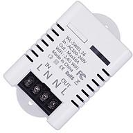 Công tắc ĐKTX kết nối smartphone thông minh qua wifi hỗ trợ bật tắt hẹn giờ thiết bị điện ( Tặng bộ miếng dán trang trí dạ quang phát sáng ) thumbnail
