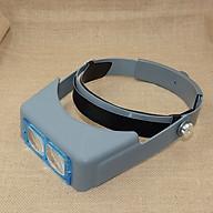 Kính lúp đeo trán V3 ( Tặng 03 nút kẹp giữ dây điện ) thumbnail