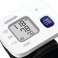 Máy Đo Huyết Áp Cổ Tay Omron Hem-6161 + Tặng kèm nhiệt kế Omron Mc-246 thumbnail
