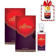 Combo 2 hộp Saffron Salam(Nhụy Hoa Nghệ Tây) 1gr Super Negin Dòng Hữu Cơ Tinh Khiết Theo Tiêu Chuẩn ISO 3632 Tặng Kèm 1gr Powder thumbnail