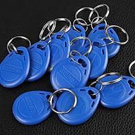 [Set 10 thẻ] Thẻ từ RFID dạng móc khóa tần số 125Khz thumbnail