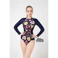 BIKINIPASSPORT Đồ bơi áo tắm Một mảnh tay dài có khóa - Floral BS126_FLO thumbnail