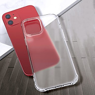 Ốp Lưng dành cho iPhone 12 Mini 12 & 12 Pro 12 Pro Max Leeu Design TPU Mặt Kính Cường Lực Nhám - Hàng Nhập Khẩu thumbnail