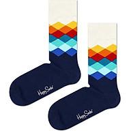 Vớ Unisex Happy Socks Faded Diamond - 7333102089233 - Màu Ngẫu Nhiên thumbnail
