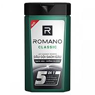 Dầu gội cao cấp Romano Classic Antidandruff cổ điển lịch lãm & ngăn gàu trở lại 180gr thumbnail