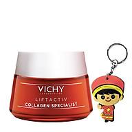 Kem dưỡng collagen Vichy LiftActiv Collagen (50mL tặng móc khoá) thumbnail