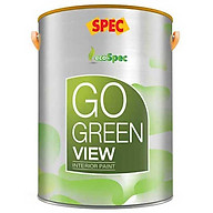 Sơn phủ nội thất thách thức vết bẩn Spec Go Green Fresher 1L màu 134 thumbnail