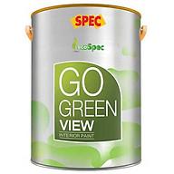 Sơn phủ nội thất thách thức vết bẩn Spec Go Green Fresher 1L màu 180 thumbnail