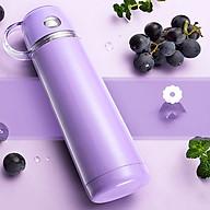 Bình giữ nhiệt 500ml thiết kế nắp cốc đi kèm tiện lợi inox 304 thumbnail