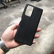 Ốp lưng dành cho Xiaomi Redmi Note 10 Pro silicon giả da chính hãng Auto Focus thumbnail