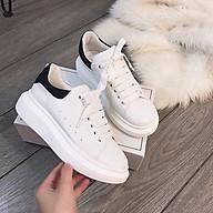 Giày Nữ Thể Thao Thời Trang Cao Cấp Ladiez Giày Sneaker Độn Đế Cổ Thấp Mềm Êm Chân Xinh Xắn thumbnail
