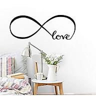 Decal dán tường tình yêu love vô cực thumbnail
