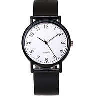 Đồng hồ nam nữ MSTIANQ mặt tròn dây cao su hottrend thumbnail