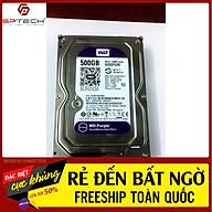 HDD Ổ CỨNG HDD WESTERN 500G Purple - Chuyên Camera (BH 24 THÁNG) SPTECH COMPUTER thumbnail