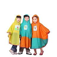 Áo mưa cánh bướm trẻ em Rando Poncho dành cho các bé có độ tuổi từ (2 tuổi đến 12 tuổi) tương đương với các size từ số 1 đến số 5 ( GIAO MÀU NGÂU NHIÊN) thumbnail