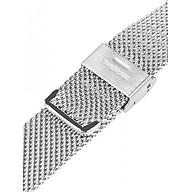 Dây đeo đồng hồ kim loại dạng bấm khóa thép không gỉ thumbnail