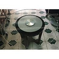 Mâm xoay bàn ăn kim tuyến bạc BMX17 thumbnail