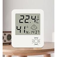 Đồng hồ để bàn đô nhiệt LX8111 ( XEM GIỜ, BÁO THỨC, ĐO NHIỆT ĐỘ, ĐỘ ẨM CHÍNH XÁC ) - Tặng kèm 01 móc khóa tua vít ba chức năng trong một thumbnail