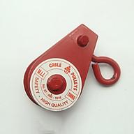 Bộ 2 Ròng rọc kéo tay có móc treo an toàn 200kg thumbnail