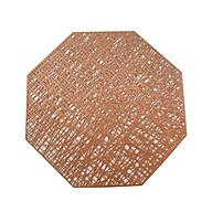 Combo 2 tấm lót bàn ăn hình bát giác KT 38.5cm - LT01-8 thumbnail