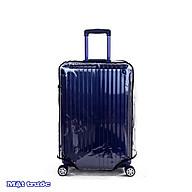 Túi bọc Vali nhựa dẻo dày dặn trong suốt - Bao bọc Vali nhựa PVC trong suốt chống nước có viền (Không kèm vali) thumbnail