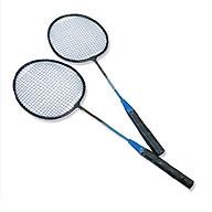 Cặp 2 vợt cầu lông tập luyện đan bằng sợi cước- Bộ 2 cây vợt cầu lông cho gia đình+ Tặng kèm túi đựng vợt tiện dụng- Vợt chơi cầu lông người lớn, cầu lông đan dây cước có túi đựng, giao màu ngẫu nhiên thumbnail