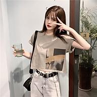 Áo thun tay ngắn in hình màu sắc đơn giản trẻ trung AE69 thumbnail