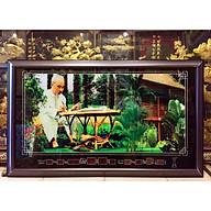 Tranh lịch điện tử, Bác hồ ngồi làm việc - MS617-5898 thumbnail