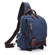 Túi đeo chéo nam nữ siêu đẹp mã 8596 - xanh thumbnail