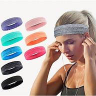 Băng đô thể thao headband cotton đeo trán thấm chặn mồ hôi chống trượt thumbnail