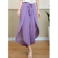 Quần Kiểu Váy Nữ Thắt Nơ Trước Mila 19Qk016Ti - Tím thumbnail