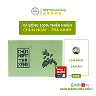 Xà Phòng Sinh Dược- Xà Bông Chùm ngây Trà xanh - Ngừa mụn VNL (Bánh 100gr) thumbnail
