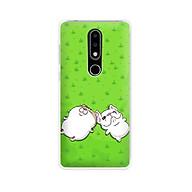 Ốp lưng dẻo cho điện thoại Nokia 6.1 plus X6 - 01171 7846 MEO09 - Mèo Ami - Hàng Chính Hãng thumbnail