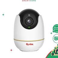 GLOBAL IOT03 - Camera wifi trong nhà chất lượng cao, tích hợp báo động vào điện thoại khi có chuyển động Hàng chính hãng thumbnail