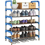 KỆ ĐỂ GIÀY DÉP INOX ĐA NĂNG KEDEP, tháo rời linh hoạt, siêu bền siêu chắc, chứa được nhiều giày dép, gắp gọn được, vận chuyển dễ dàng, mạ kẽm cứng cáp thumbnail