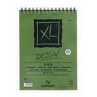 Giấy vẽ dành cho vẽ màu chì Canson XL Dessin 16k, 40 tờ, 160gsm thumbnail