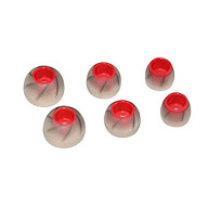 3 cặp đệm Silicon 3 size S M L cho tai nghe nhét tai ( KZ ) cao cấp - Hàng chính hãng thumbnail