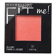 Phấn Má Hồng Mịn Lì Chuẩn Màu Maybelline Fit Me Blush - Màu 30 Rose 4,5g thumbnail