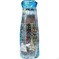 Bình Nước Thủy Tinh Kim Cương 500ml - Xanh Dương thumbnail