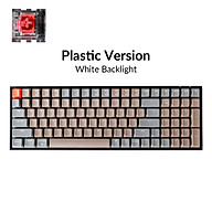 Bàn Phím Cơ Bluetooth Keychron K4 V2 Gateron switch - Led White - Bản Nhựa - Hàng Chính Hãng thumbnail