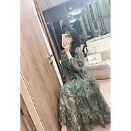 Đầm maxi nữ hoạ tiết Hoa in sang chảnh thumbnail
