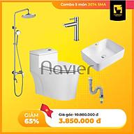 Combo Thiết Bị Phòng Tắm Navier 5 Món Giá Rẻ thumbnail