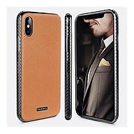 Ốp lưng cho iPhone Xs Max hiệu NUOKU Jazz Leather Bumper - Hàng Nhập Khẩu thumbnail