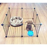 Lưới lắp ghép chuồng quây thú cưng thumbnail