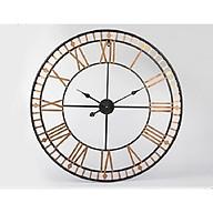 WALL CLOCK Đồng hồ tròn vàng 6164G thumbnail