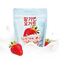 Sữa chua hoa quả sấy lạnh Bebedang nhập khẩu Hàn Quốc - Vị dâu (16g) thumbnail