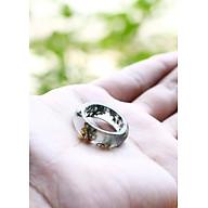 Nhẫn đá băng ngọc thủy tảo mệnh hỏa , mộc - Ngọc Quý Gemstones thumbnail