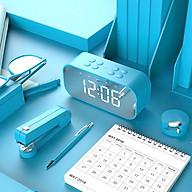 Loa Bluetooth Mặt Gương Kiêm Đồng Hồ Báo Thức BT501 BT-501 V5.0 - Có Khe Cắm Thẻ Nhớ - Hàng Chính Hãng thumbnail
