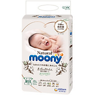 Bỉm Dán Moony Natural size Newborn 63 miếng thumbnail